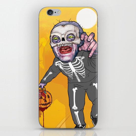 Trick or Tremble iPhone & iPod Skin