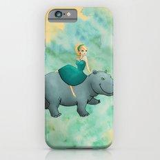 Lovely Hippo iPhone 6s Slim Case