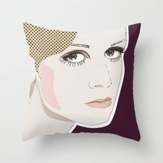 Baby I'm a Star Throw Pillow