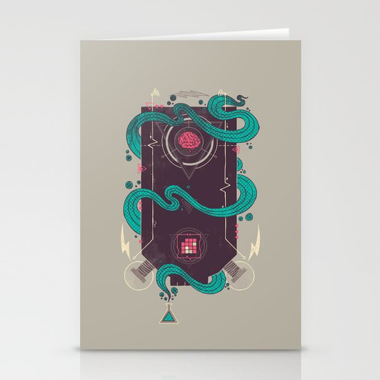 The Monster Stationery Card