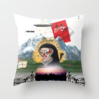 Broad Horizon Throw Pillow