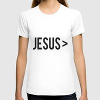 jesus T-shirts featuring Jesus > by Sarah Leanne