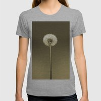 How Dandy II Womens Fitted Tee Athletic Grey SMALL
