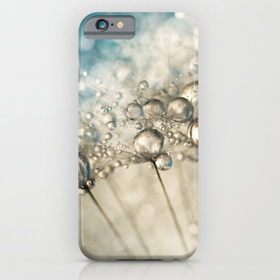 Sapphire & Silver Sparkle iPhone & iPod Case