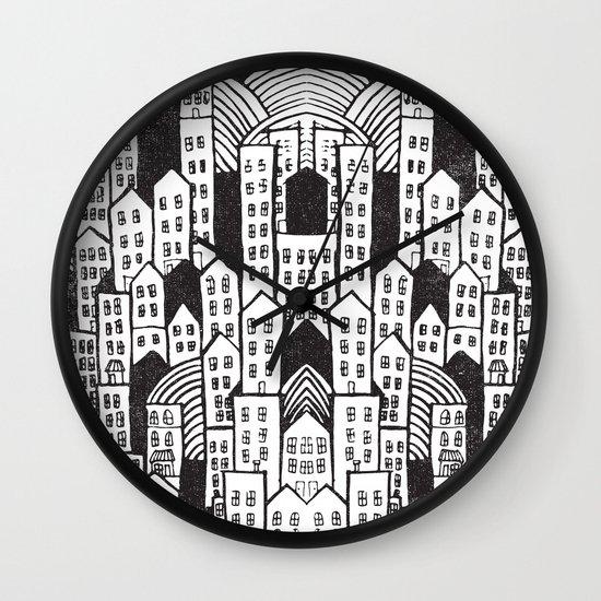 SPRAWL Wall Clock