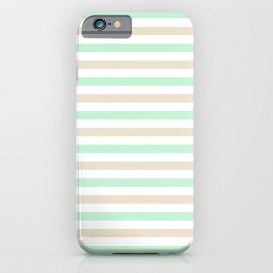 Pastel stripes iPhone & iPod Case