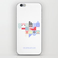 For Japan with love 2 iPhone & iPod Skin