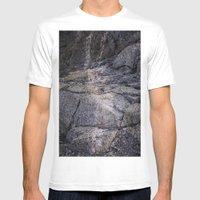desert rocks Mens Fitted Tee White SMALL
