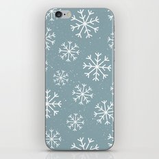 Snow Flakes Winter iPhone & iPod Skin