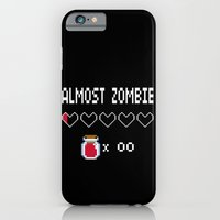 iPhone & iPod Case featuring Almost Zombie by DarkChoocoolat
