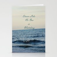 Dance Like No One Is Wat… Stationery Cards