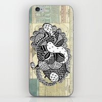 Kiss untimely iPhone & iPod Skin
