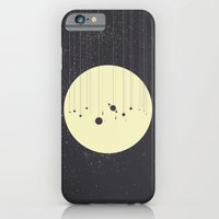 iPhone Cases featuring Solar System (you are here) Strings by Justin Cybulski