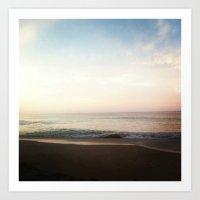 Ocean Views Outerbanks Art Print