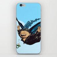 Butterfly boy iPhone & iPod Skin
