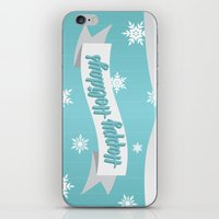 Holiday Snow iPhone & iPod Skin