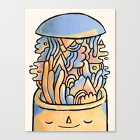 Mind Slime Canvas Print