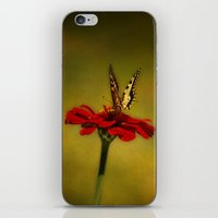 Butterfly Dance iPhone & iPod Skin