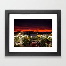 City Scape /Medford OR Framed Art Print