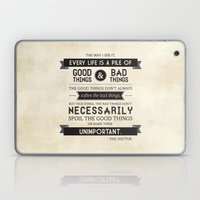 Good Things & Bad Things Laptop & iPad Skin