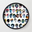Heads Wall Clock