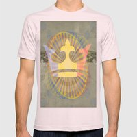 Cha Gheill Mens Fitted Tee Light Pink SMALL