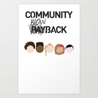 Community Blowback Art Print