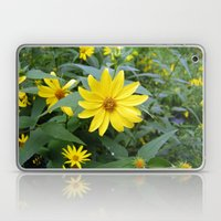Woodland Sunflowers Laptop & iPad Skin