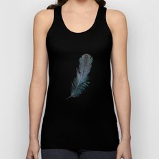 Feather - Enjoy the difference! Unisex Tank Top