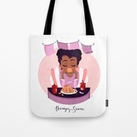 Fast Food Therapy Tote Bag