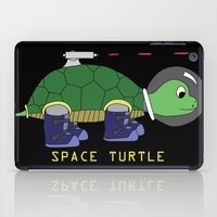 Space Turtle iPad Case