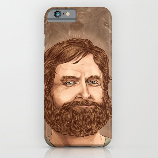 One man wolf pack iPhone & iPod Case