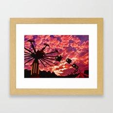 Summer Swing Framed Art Print