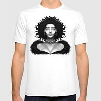 Madame Impact Mens Fitted Tee White SMALL