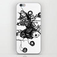 Swamp Lady iPhone & iPod Skin