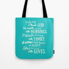 Thank God, Inspirational… Tote Bag