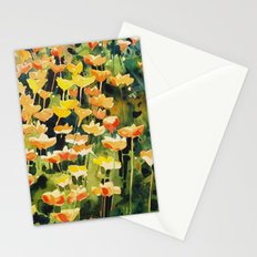 California Popies Stationery Cards
