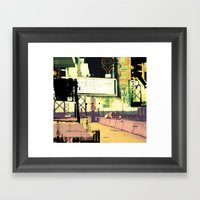 Road Movie Framed Art Print