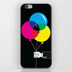 CMYK Balloon's  iPhone & iPod Skin