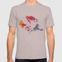 Bird of Colour Mens Fitted Tee Cinder SMALL