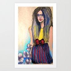 Right Art Print