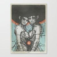 Nymphs (Ext) Canvas Print