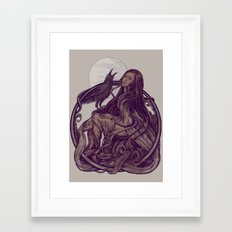 Flirt Framed Art Print