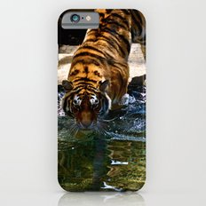 Swimming Tiger iPhone 6 Slim Case