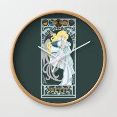 Odette Nouveau - Swan Princess Wall Clock