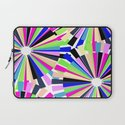 MULTI COLOURED WHEELS Laptop Sleeve