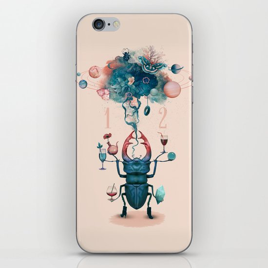 funny beetle iPhone & iPod Skin