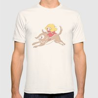 Caperucita de paseo Mens Fitted Tee Natural SMALL