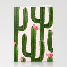 Happy Cacti #society6 #decor #buyart Stationery Cards