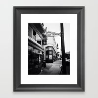 Jack Kerouac Alley Framed Art Print